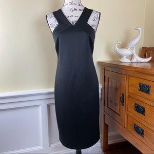 Jennifer Lopez Asymmetrical Black Dress